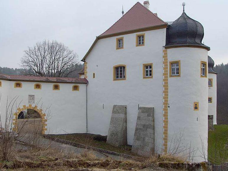 Schloss, Unteraufseß